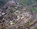 Newcastle Civic Centre and its surrounding area, 1977 (25834535462).jpg