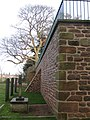 Newly repaired Prospect wall, with buttress - geograph.org.uk - 1620084.jpg