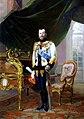 Nicholas II by E.Lipgart (1914, Russian museum).jpg