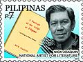 Nick Joaquin 2010 stamp of the Philippines.jpg