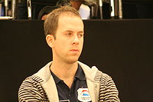 Van den Berg at the European Championship 2008