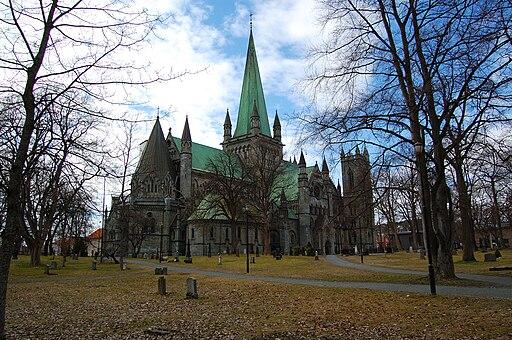 Nidaros cathedral Trondheim 2009 1