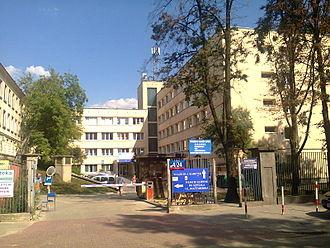 Manuel Sánchez Arcas - Niekłańska Street in Warsaw - Children's Hospital