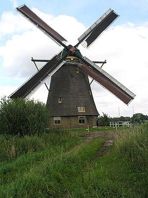 Nieuw-Lekkerland - Image: Nieuw Lekkerland Hoge Molen 6395