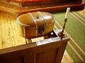 Nikkaluokta kyrka collect box.jpg