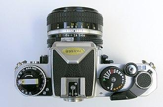 Nikon FE2 - FE2 from above