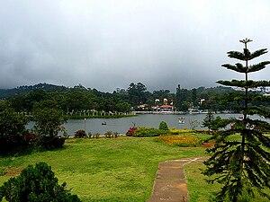 Ooty Lake - Image: Niligiris 123