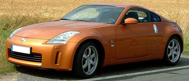 Nissan Z350 (fuente: Wikipedia)