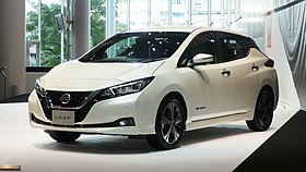 Nissan Leaf ZE1 Nissan Global Headquarters Gallery 2017-08 1.jpg