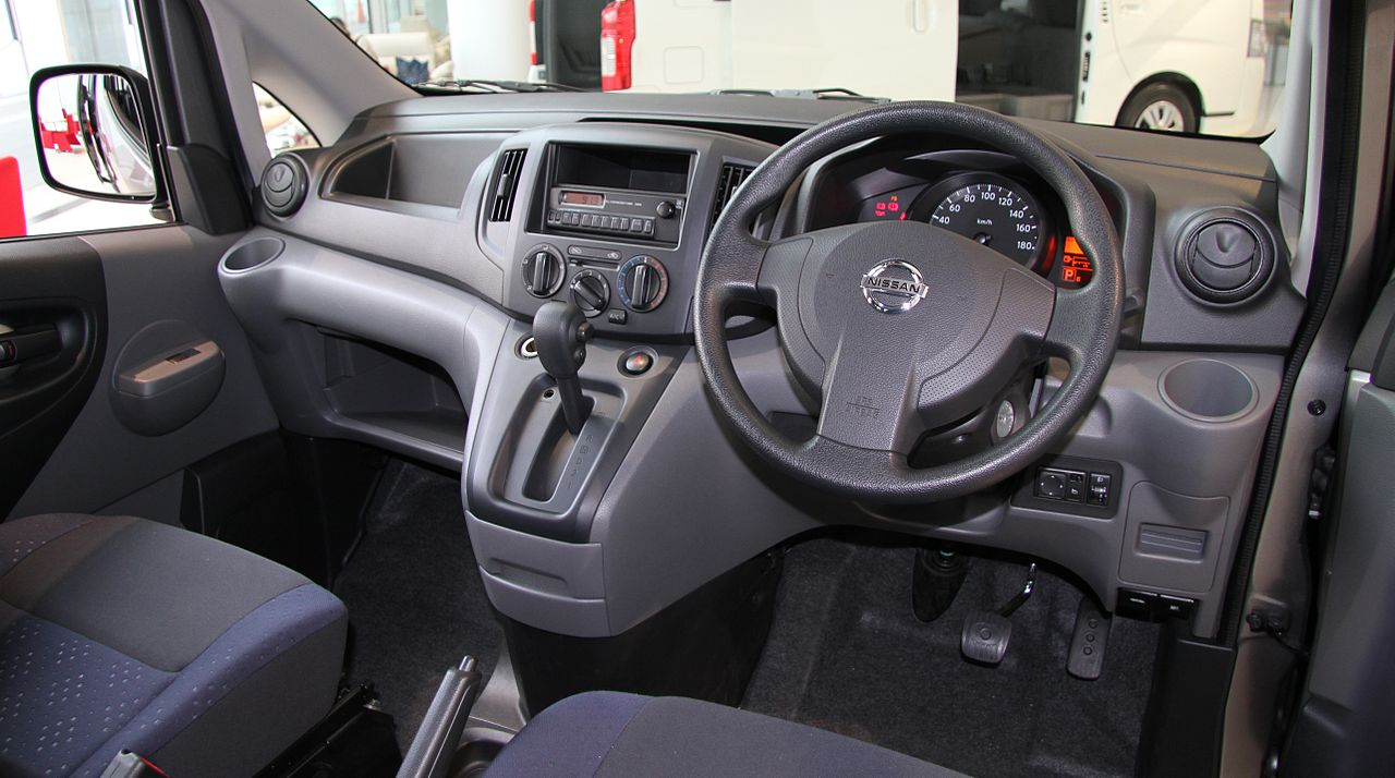 File nissan nv200 vanette gx wikimedia commons for Nissan nv200 interior