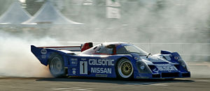 Nissan R90C - A Nissan R92CP, one of the cars based on the R90C platform.