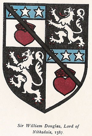 William Douglas of Nithsdale - Image: Nithsdale Arms