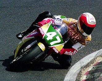 Nobuatsu Aoki - Image: Nobuatsu Aoki 1990 Japanese GP