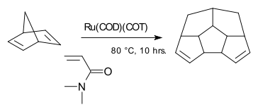 Norbornadiene dimerization