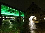 Nordertor und Phänomenta bei Nacht, Flensburg 2013.JPG