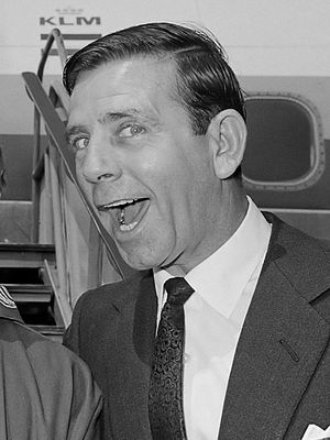 Norman Wisdom - Norman Wisdom demonstrating a typical expression (1965)