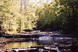 Duanesburg, New York - Normanskill Creek in Duanesburg
