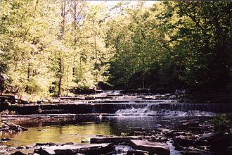 Normans Kill - Normanskill Creek in Duanesburg