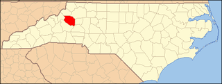 National Register of Historic Places listings in Caldwell County, North Carolina Wikimedia list article
