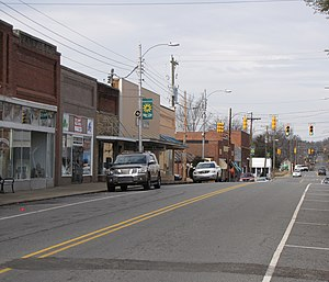 Siler City, North Carolina - North Chatham Avenue, downtown
