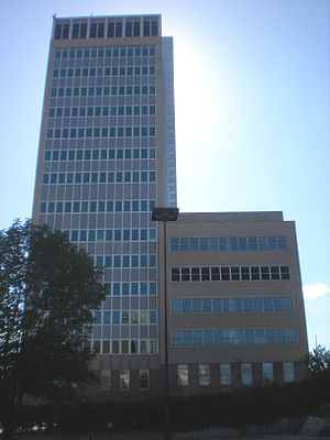 Northern Natural Gas Building -  The north view of the Northern Natural Gas Building in Downtown Omaha.