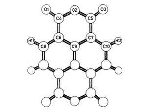 Naphthalenetetracarboxylic dianhydride - Image: Ntda crys struc