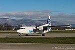 OO-VLJ Fokker 50 (F27 Mark 050) F50 - BCY (22695460383).jpg