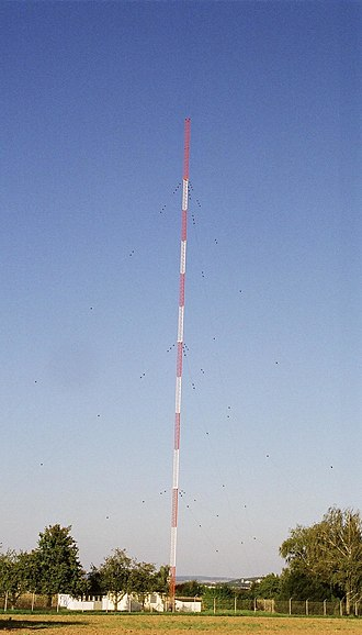 Obereisesheim transmitter - Obereisesheim transmission mast