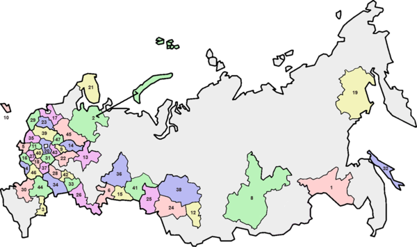 Oblasts of Russia - Wikipedia, the free encyclopedia