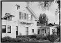 October 1960 WEST ELEVATION (Rear) - Finch-Fleischer House, 410 Monroe Street, Monterey, Monterey County, CA HABS CAL,27-MONT,41-3.tif