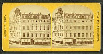 Odd Fellows Hall, Boston - Image: Odd Fellows' Hall, Boston, from Robert N. Dennis collection of stereoscopic views 2