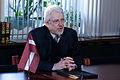Ojārs Ēriks Kalniņš tiekas ar Ungārijas Ārlietu ministrijas Valsts sekretāra vietnieku (6835720603).jpg