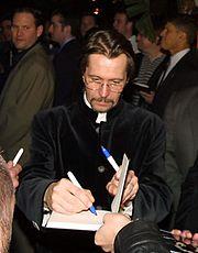 Oldman à la première de Harry Potter en 2007