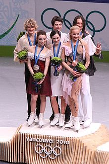 Olympics 2010 Ice Dance podium.jpg