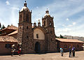 On the Road to Puno, small country chapel at Racchi, Peru.jpg