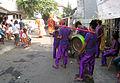 Ondel-ondel street performance in Jakarta 1.jpg