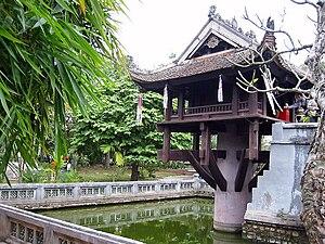 """One pillar"" pagoda, Hà Nội capital."