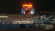 Открытие XVII Маккабиады, 2005 год
