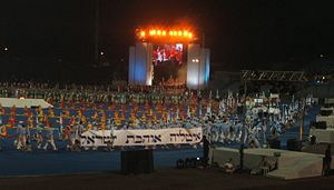 Maccabiah Games - Opening ceremony of the 17th Maccabiah.