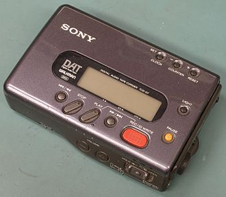 Digital Audio Tape - Original Sony DAT Walkman