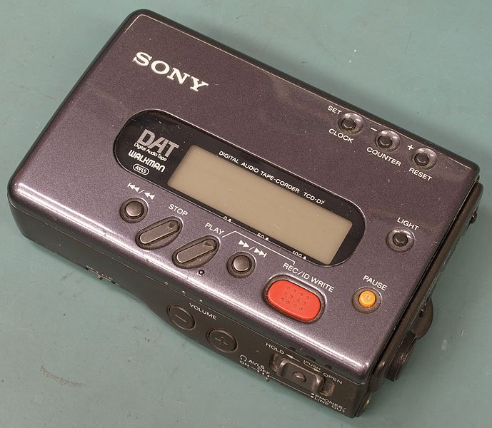 File:Original Sony DAT Walkman.JPG