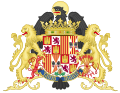 Ornamented Coat of Arms of Queen Isabella of Castile (1492-1504).svg