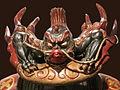Ornement frontal dun casque de Samourai (musée du Quai Branly) (6736297201).jpg