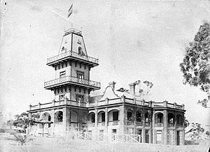 Loreto Convent, Claremont - Osborne Hotel, Claremont. c.1895.  Occupied by Loreto Convent from 1901.