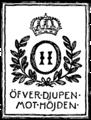 Oskar IIs exlibris, Nordisk familjebok.png