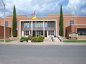Otero County courthouse in Alamogordo