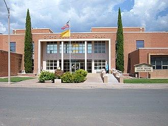 Otero County, New Mexico - Image: Otero County Court House Alamogordo