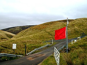 Otterburn Training Area - Image: Otterburn Ranges geograph.org.uk 63760