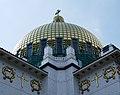 Otto Wagner Kirche, Wien - Goldene Kuppel (2).jpg