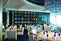 Overall view of Blu Restaurant aboard the Celebrity Equinox (6857576351).jpg